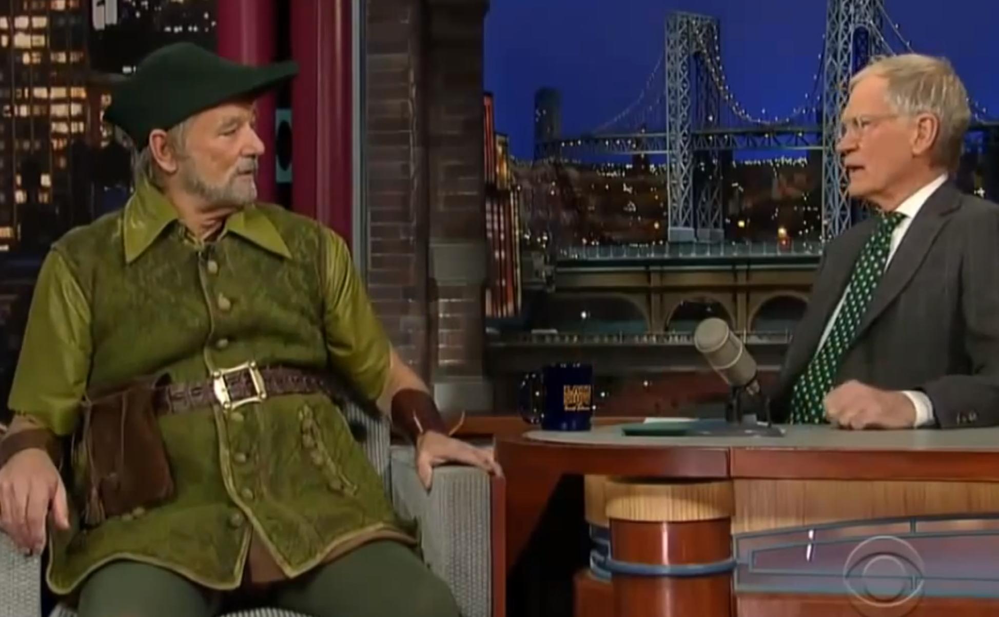 David Letterman And Bill Murray: A Beautiful Modern Bromance