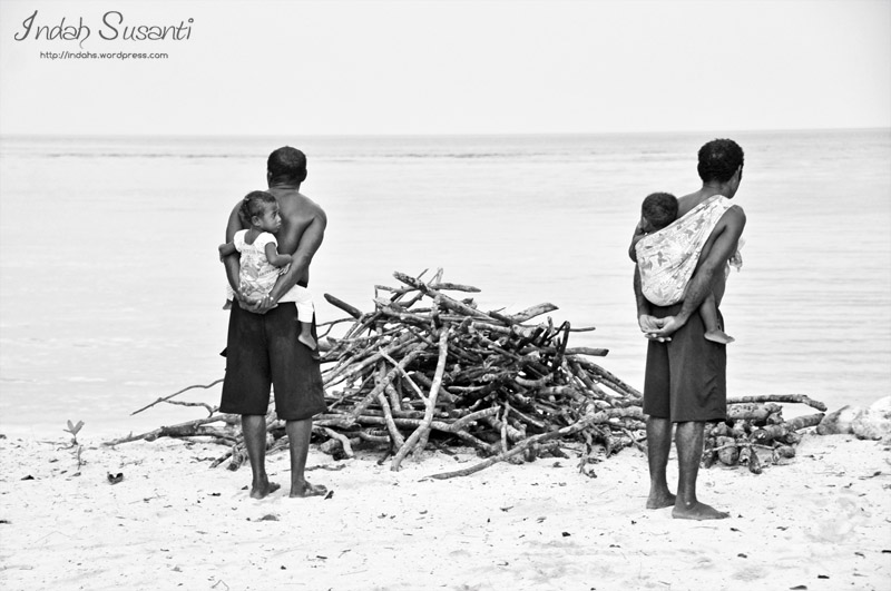 Monochrome Monday: The Papuan Fathers
